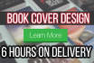 design 3 BOOK Covers within 6 Hours
