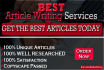 write Killer and Amazing SEO Content up to 1000 words