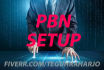 do PBN setup for your  domain