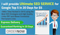 do ultimate seo service for page 1 rankings