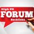 create 1500 Hight PR Forums Backlink
