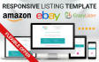 create CrazyLister eBay listing template MOBILE friendly