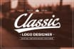 design your Timeless CLASSIC Logo