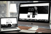 create professional, responsive website