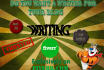 write standard posts for your blog