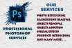 provide All Kind Of Photoshop Services