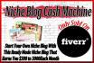 design a Ready Made Niche Blog that Make You Money