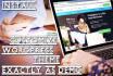 customize Any Wordpress Theme Exactly As Demo