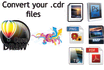 convert corel draw cdr files to jpeg, bmp,png,tiff, psd