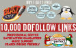 do 10,000 GSA,Dofollow,Backlinks for Seo