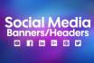 create eye catching social media banners
