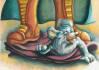 make children book illustration