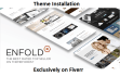 install Enfold WP theme on your website
