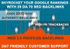 create,backlinks, skyrocket your Google Ranking