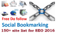do social bookmarking for site