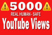 promote your youtube video to more than 5000 real viewers,