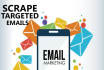provide you ACTIVE email lists as per your niche