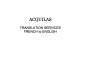 translate 3000 words from French to English