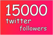 add 2000 high quality followers to your Twitter profile