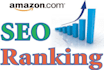 rank your  any keyword 1st page on Amazon