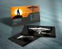 design STUNNING 2 sided business card with 5 free previews