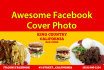 create an awesome Facebook Cover photo