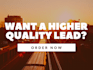 provide you with high quality business leads
