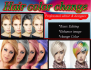 change your hair color in different styles