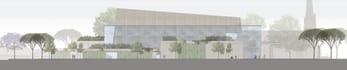 design a stunning facade Autocad Photoshop bonus Free Editable File