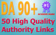 boost Your Google Bing Rank with DA90 Plus HQ 50 Links