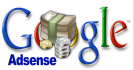 give you a blogspot website with adsense