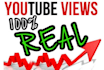 give you 5000 View 50Subscribers YouTube REAL Human Guaranteed with high audie