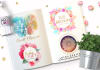 design a girly hand painted artistic logo