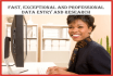 do Fast, Professional and Excellent data entry in 24hrs