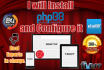install phpBB forum and customize it