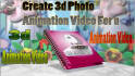 create 3d photo  video for your pics with background Music