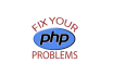 fix your PHP errors