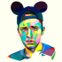 do a artistic photo wpap of your photo