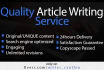 research and write an ORIGINAL 600 word article