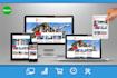 develop responsive WEBSITE using Bootstrap Web Design