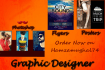design or illustrate a Poster in 1 day