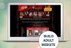 design and develop adult website