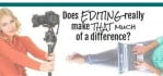 do professional video editing for you