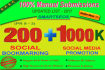 do Manual Social bookmarking upto 200 sites PR 9 to 3 with guaranteed Index