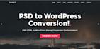 convert psd to WordPress theme, WordPress theme development
