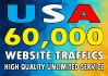 drive USA targeted websites traffics
