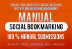 do Social Bookmarking Backlinks on Top 25 HPR Sites
