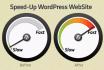 optimize the Speed of your Wordpress Website