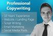 create original sales, script, and SEO copywriting
