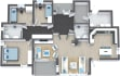 make 3D Floor plan from CAD Files or rough sketches